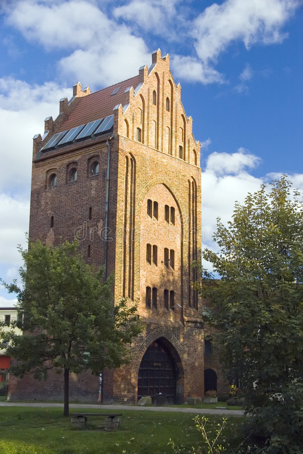 Gothic tower.