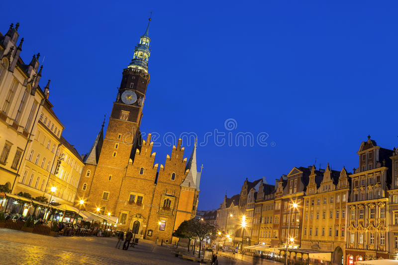 Gothic Tower Of The Old Town Hall, Wroclaw Editorial Image