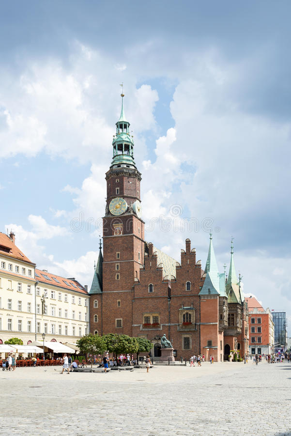 Gothic Town Hall royalty free stock photography
