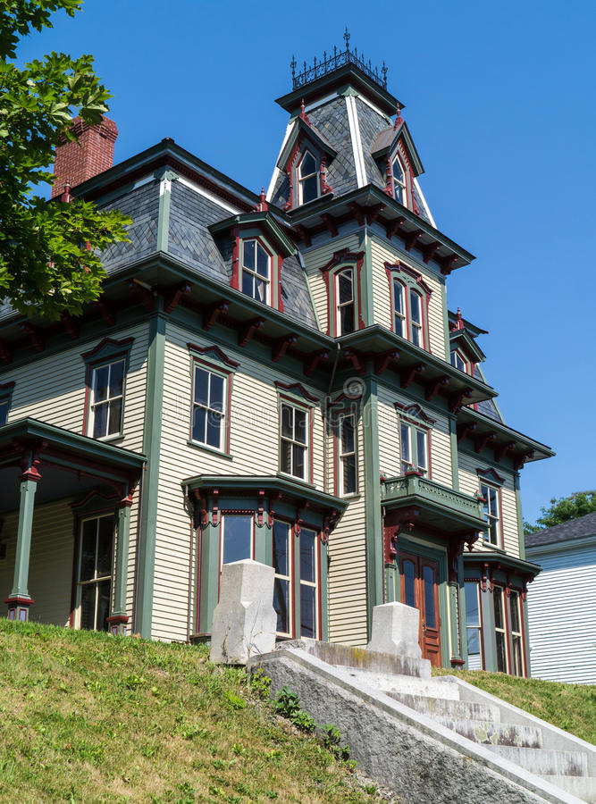 A Gothic Victorian Home royalty free stock photography