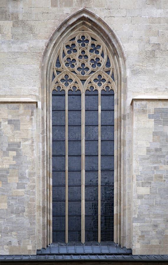 Gothic window stock image