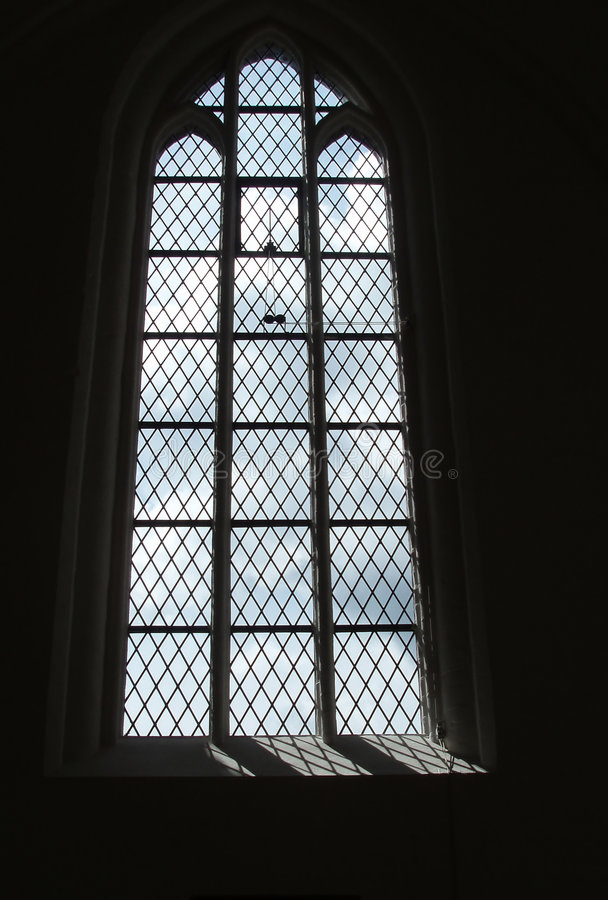 Download Gothic Window With Stained Glass Stock Image - Image: 198367