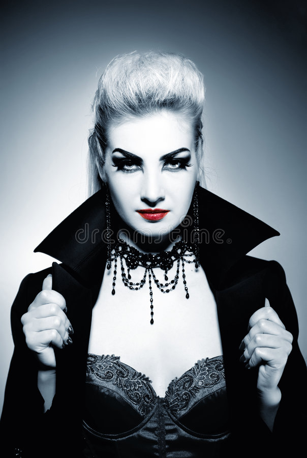 Gothic woman royalty free stock photo