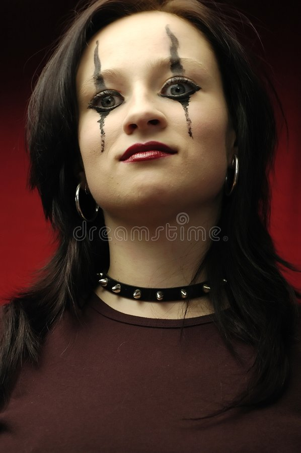Free Gothic Woman Portrait Stock Photos - 149343