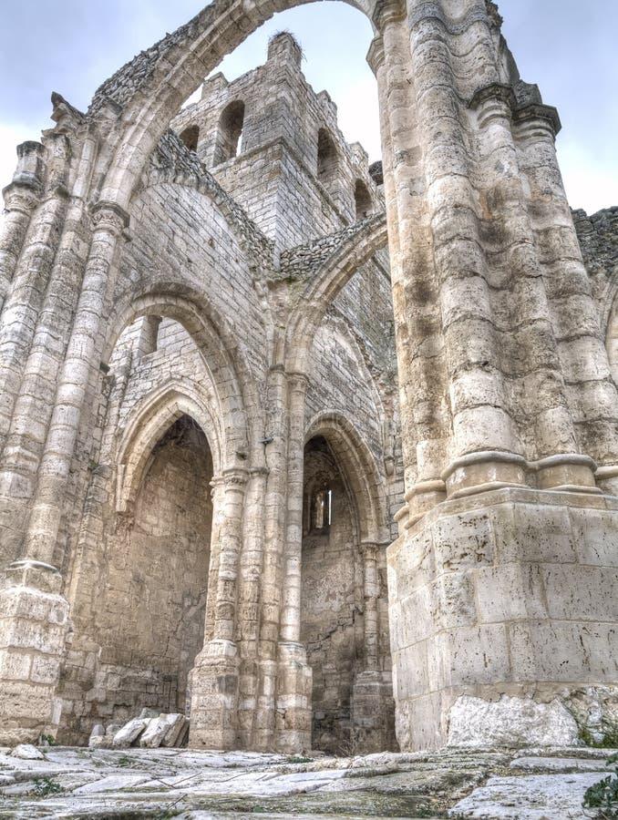 Gothics ruins stock photo