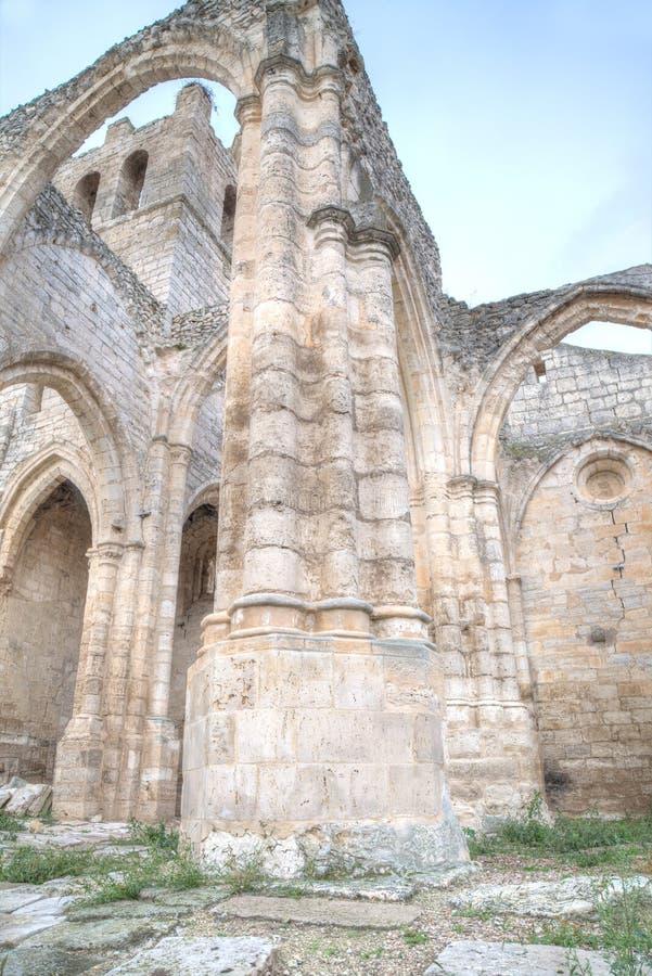 Gothics ruins royalty free stock photo
