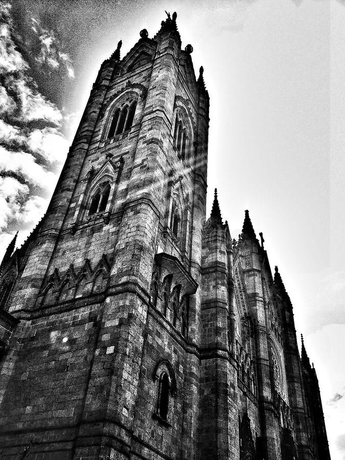 gothique image stock