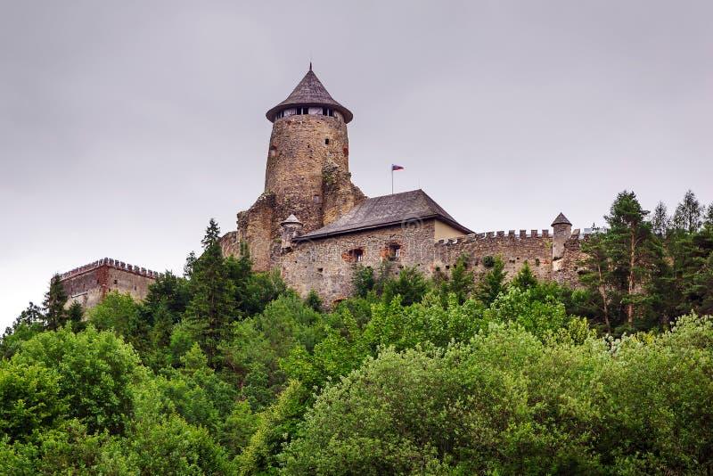 Gotisch kasteel Stara Lubovna royalty-vrije stock afbeeldingen