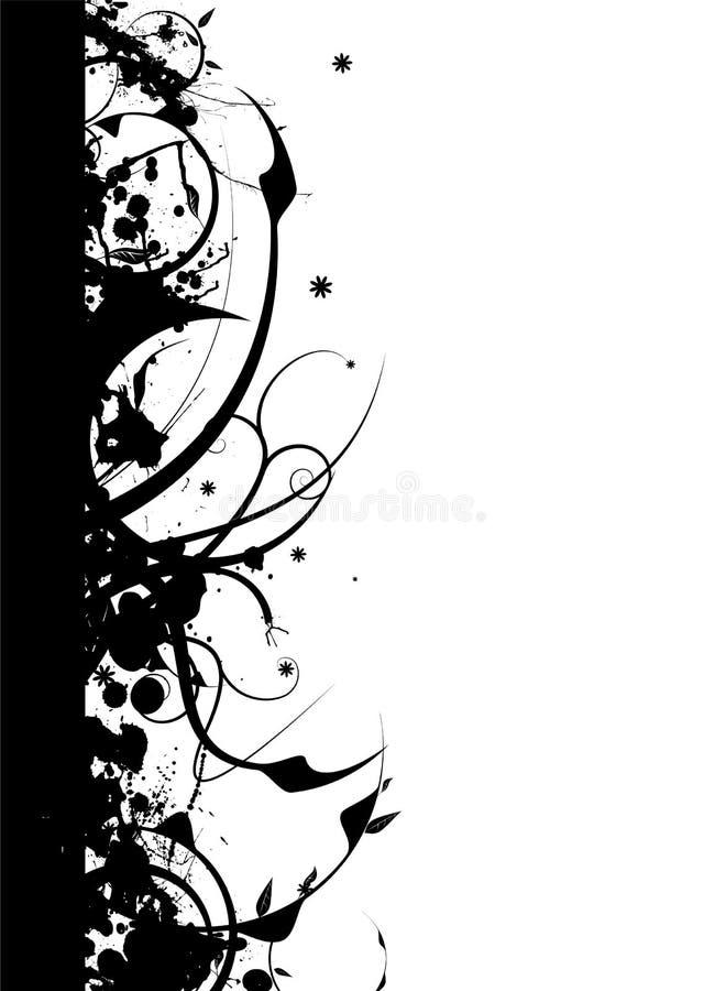 Gotische aardgrens stock illustratie