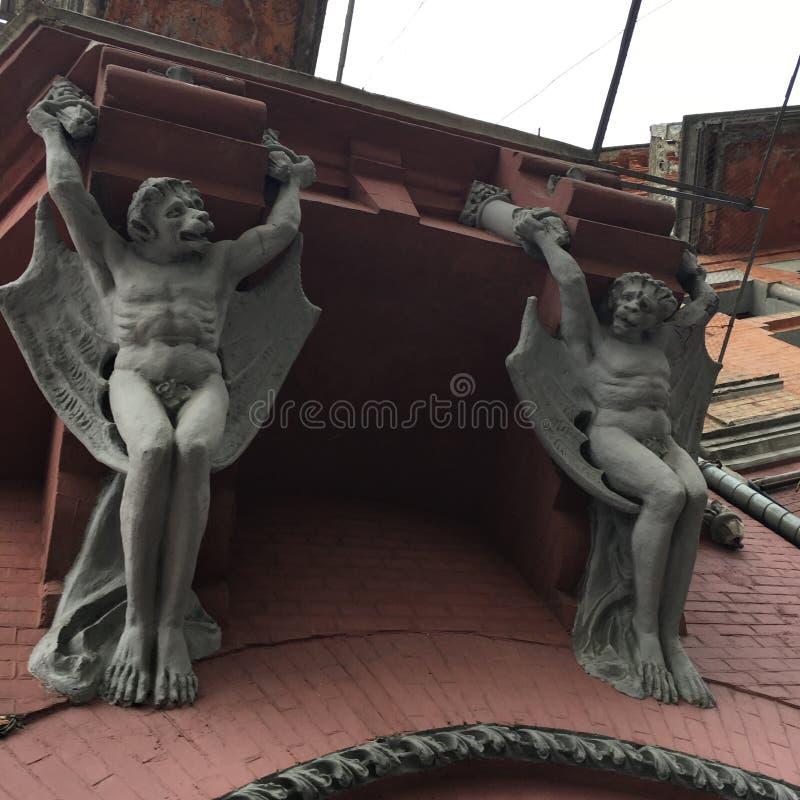 Gotische Architectuur royalty-vrije stock fotografie