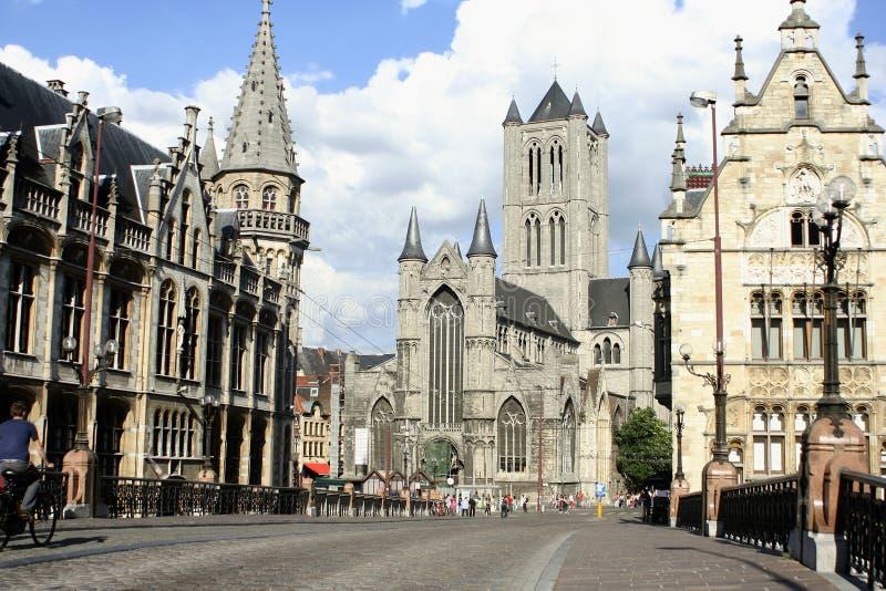 Gotische Architektur stockbilder