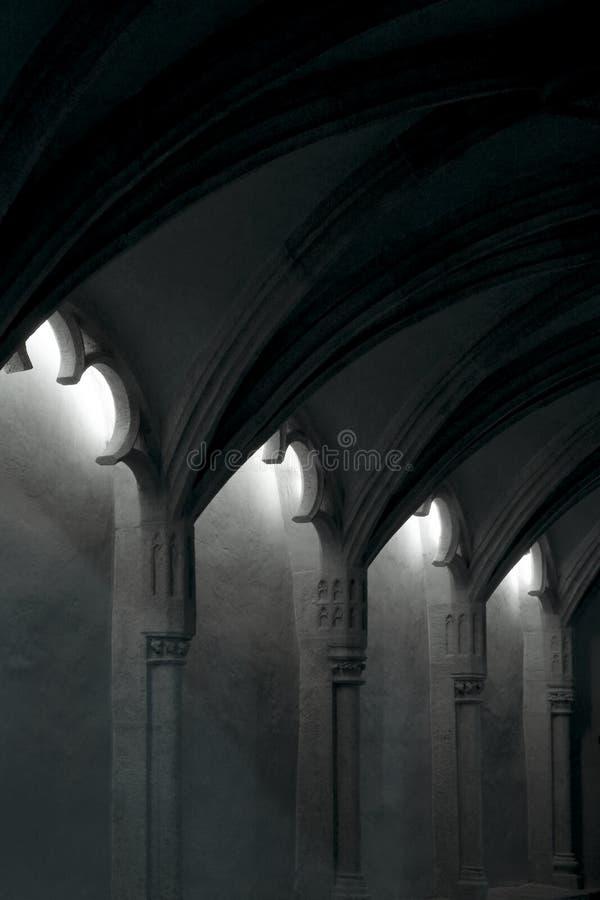 Gotische Architektur lizenzfreie stockbilder