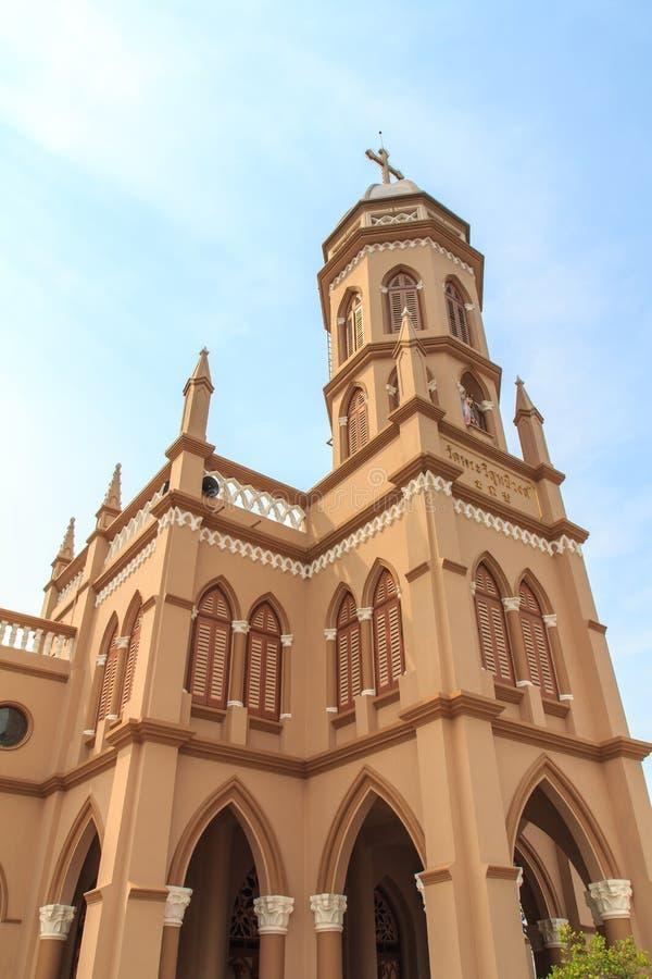 Gotische Artkirche in Bangkok, Thailand. stockfoto