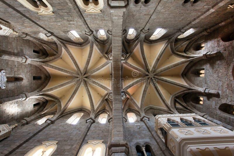 Gotische basiliek Heilige Procopius in Trebic, Unesco-plaats stock foto's