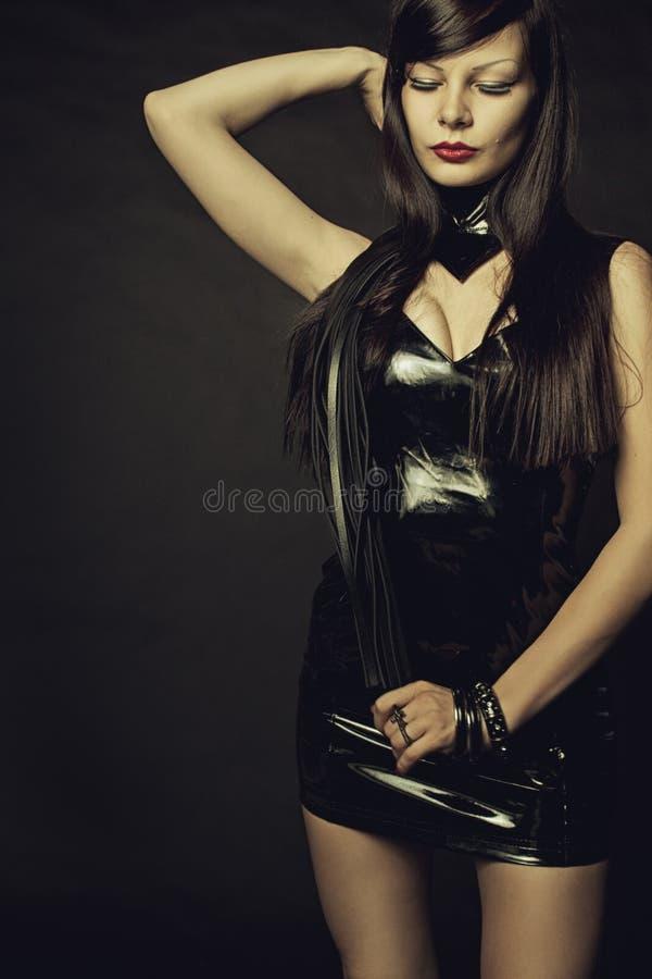 Gotische Dame stockbild