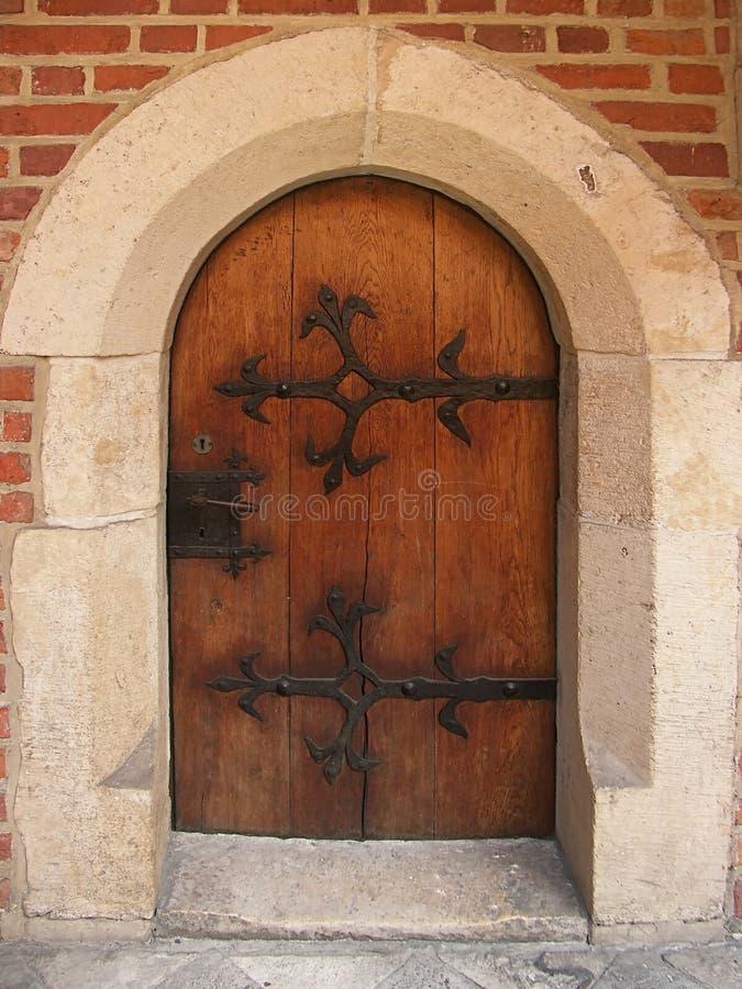 Gotische deuren royalty-vrije stock fotografie