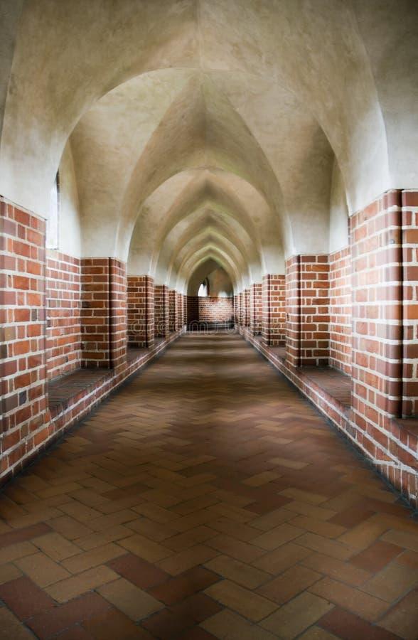 Gotische Galerie lizenzfreie stockfotos