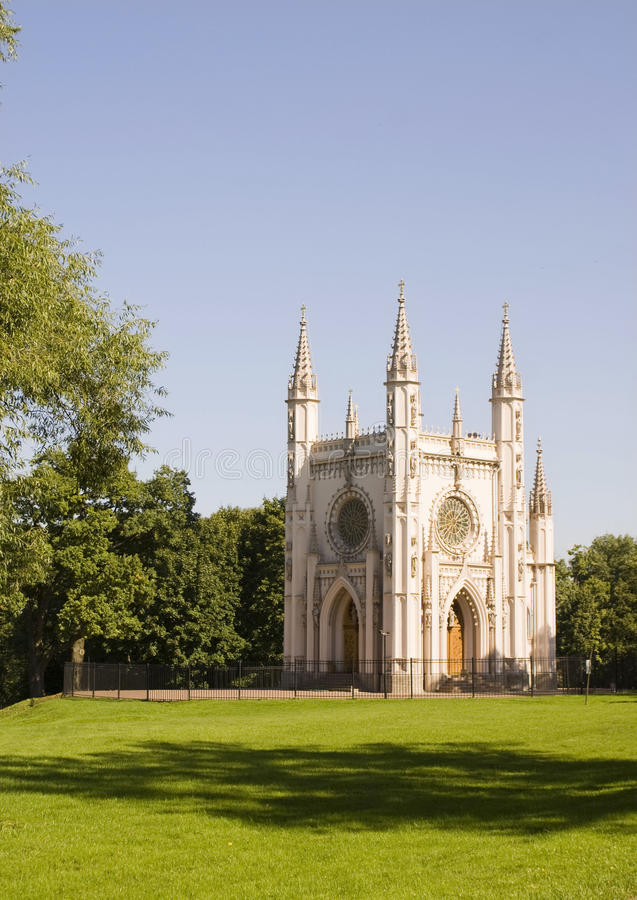 Gotische Kapelle stockfotografie