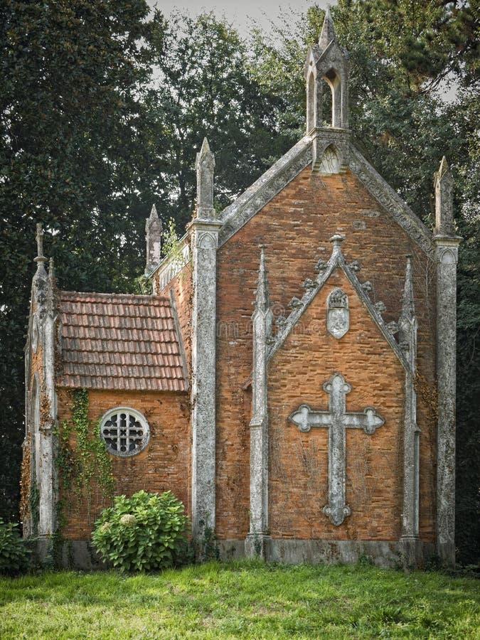 Gotische Kapelle stockbilder