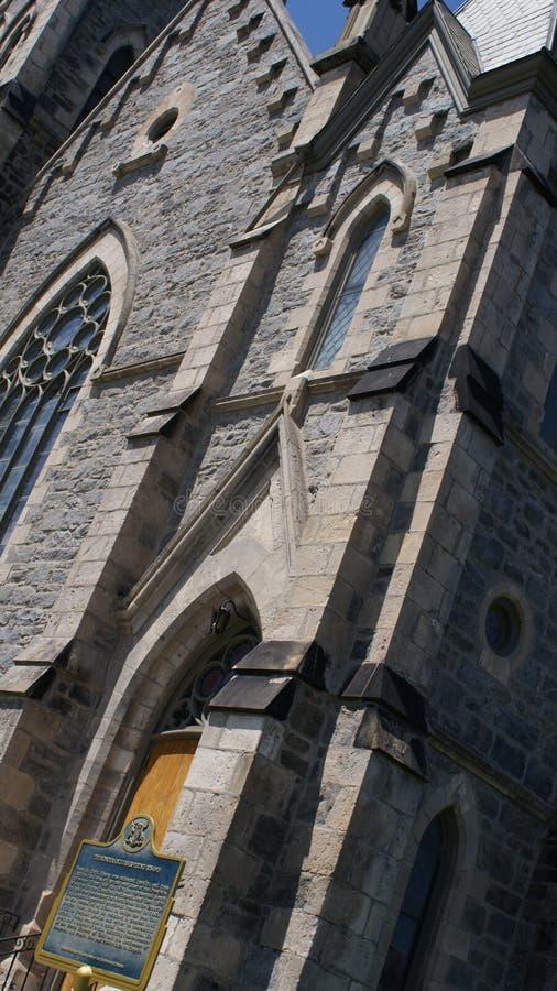 Gotische Kathedrale in Cambridge, Ontario stockfotografie