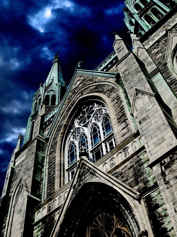 Gotische Kirche 02 stockbild