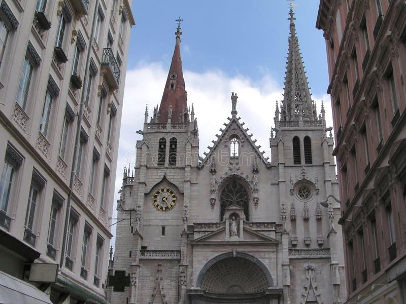 Gotische Kirche 1 lizenzfreie stockfotos