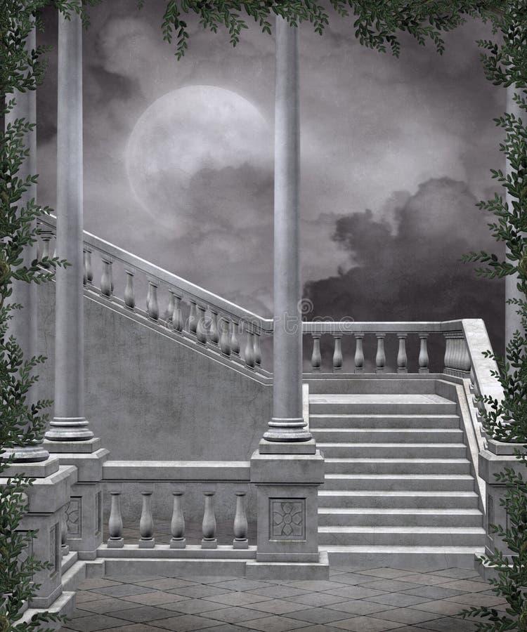 Gotische Landschaft 105 lizenzfreie abbildung
