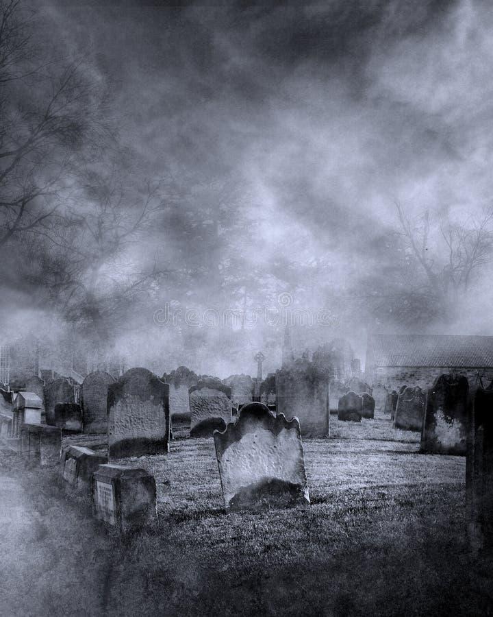 Gotische Landschaft 18 lizenzfreie abbildung