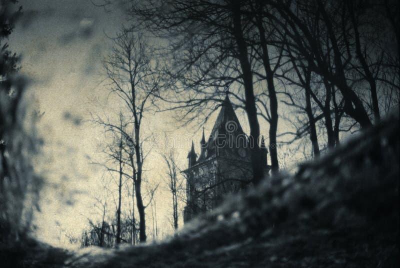 Gotische Landschaft lizenzfreies stockfoto