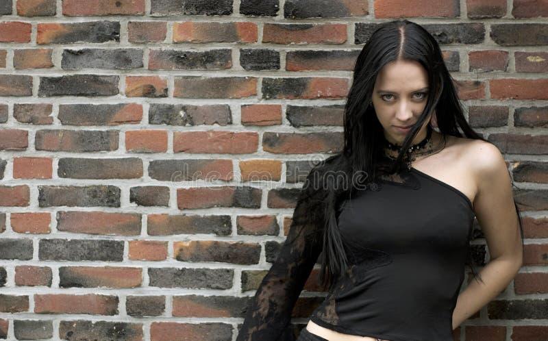 Gotische Schoonheid royalty-vrije stock foto