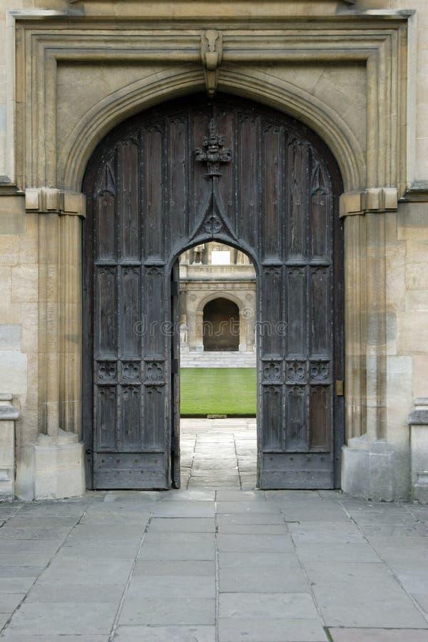 Gotische Türen 4 lizenzfreies stockbild