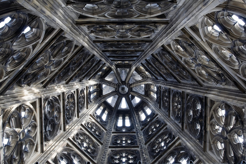 Gotische torendecoratie royalty-vrije stock foto's