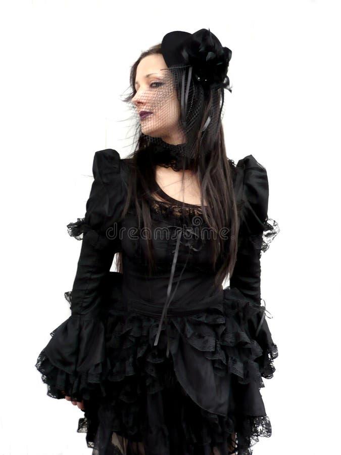 Gotische Verleidster stock foto's
