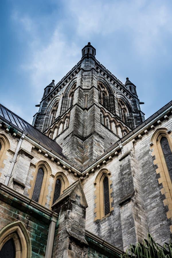 Gotische Wiederbelebungs-Kathedrale stockfoto