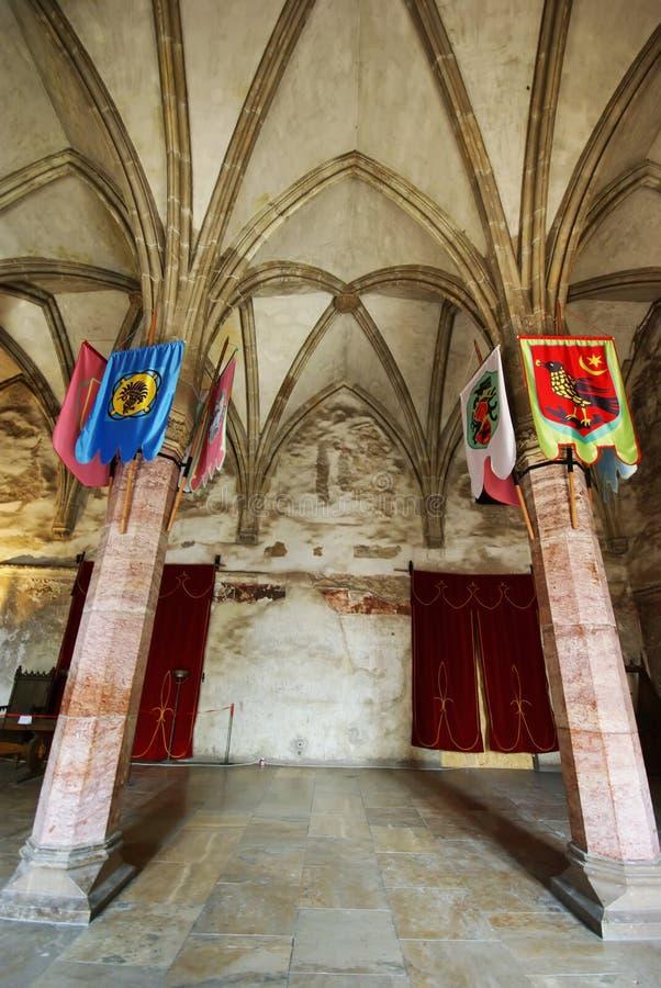 Gotische zaal stock foto