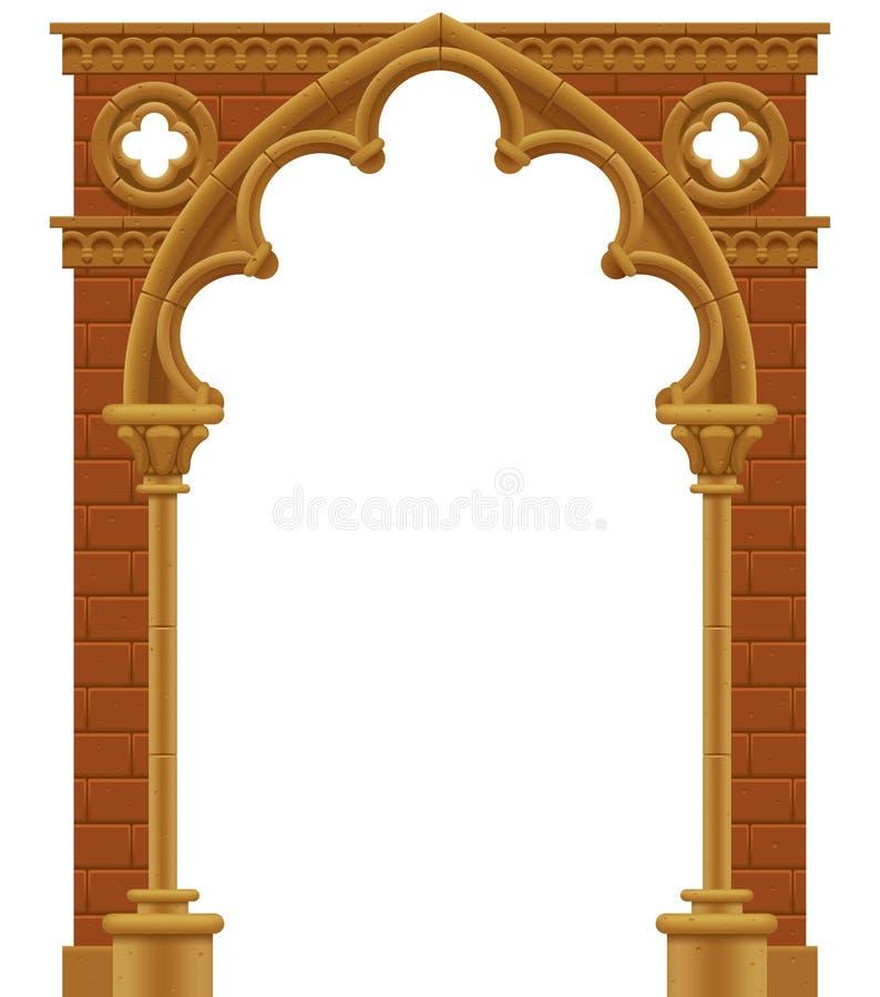Gotischer Bogen