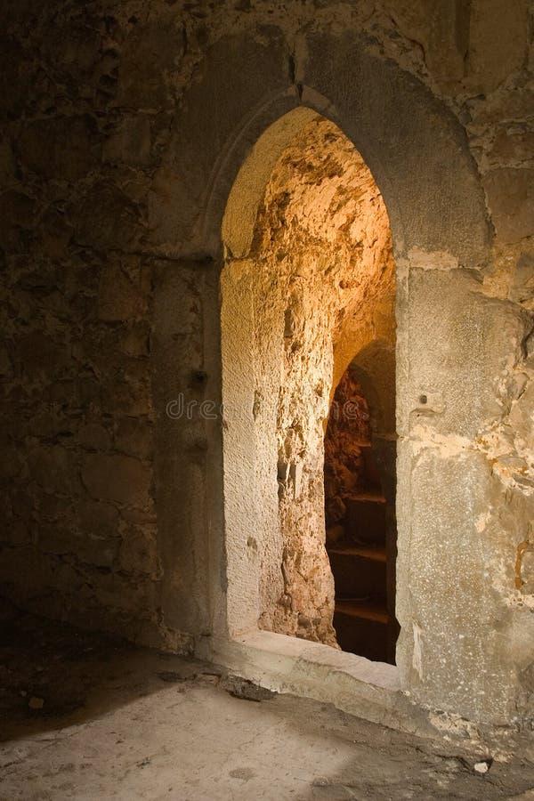 Gotischer Eingang lizenzfreies stockbild