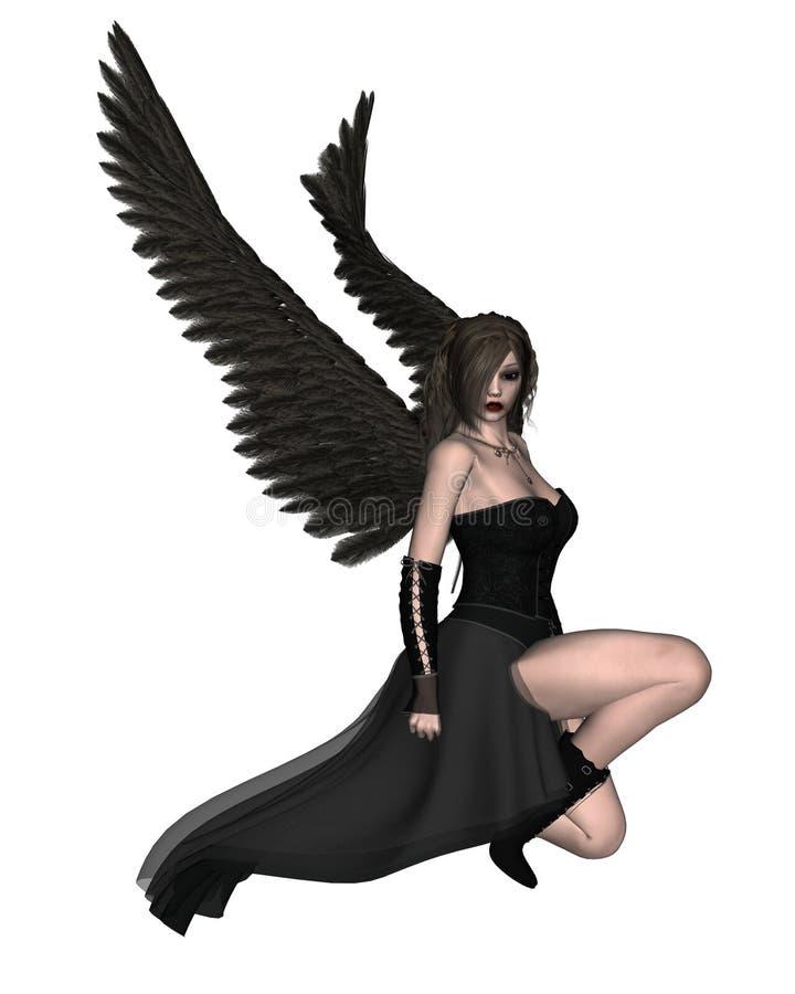 Gotischer Engel - 2 lizenzfreie abbildung