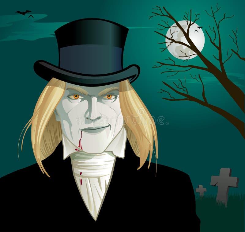 Gotischer Vampir lizenzfreie stockbilder