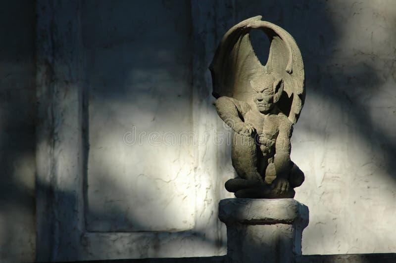 Gotischer Wasserspeier stockbilder