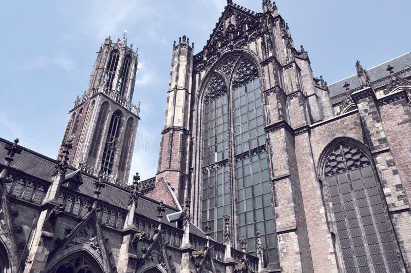 Gotisk arkitektur arkivfoton