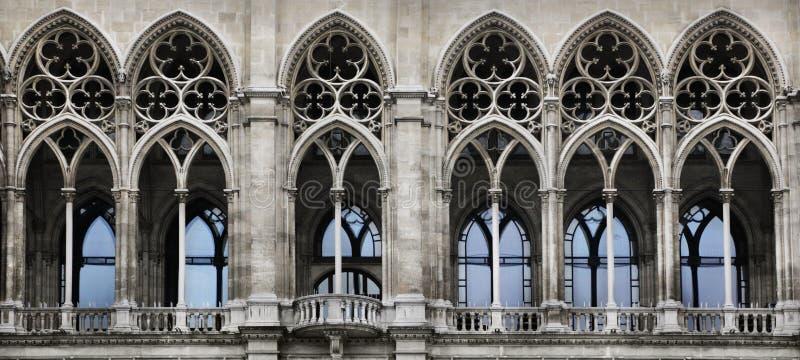 Gotisk båge arkivbild