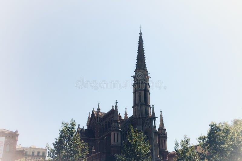 gotisk domkyrka arkivbilder