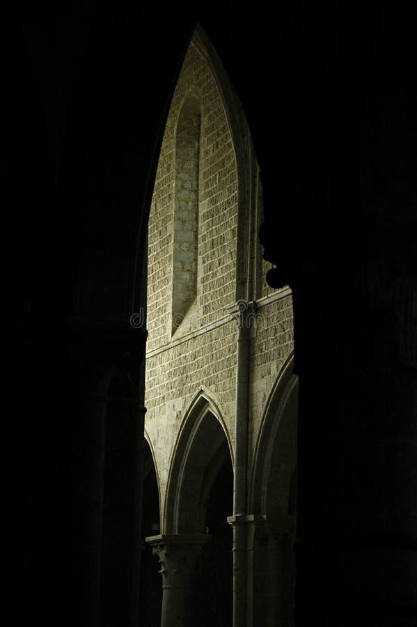 gotisk geometri royaltyfria foton
