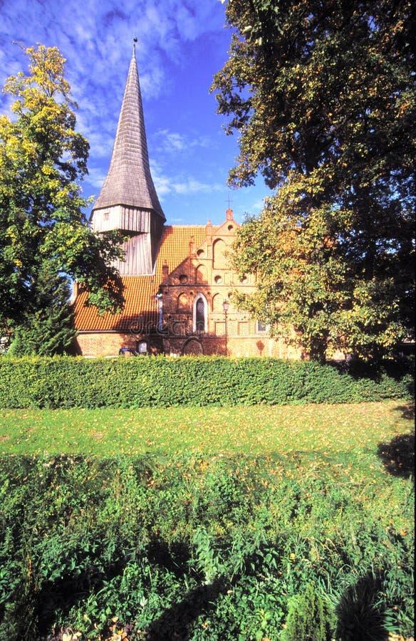 Gotisk kyrka royaltyfria foton
