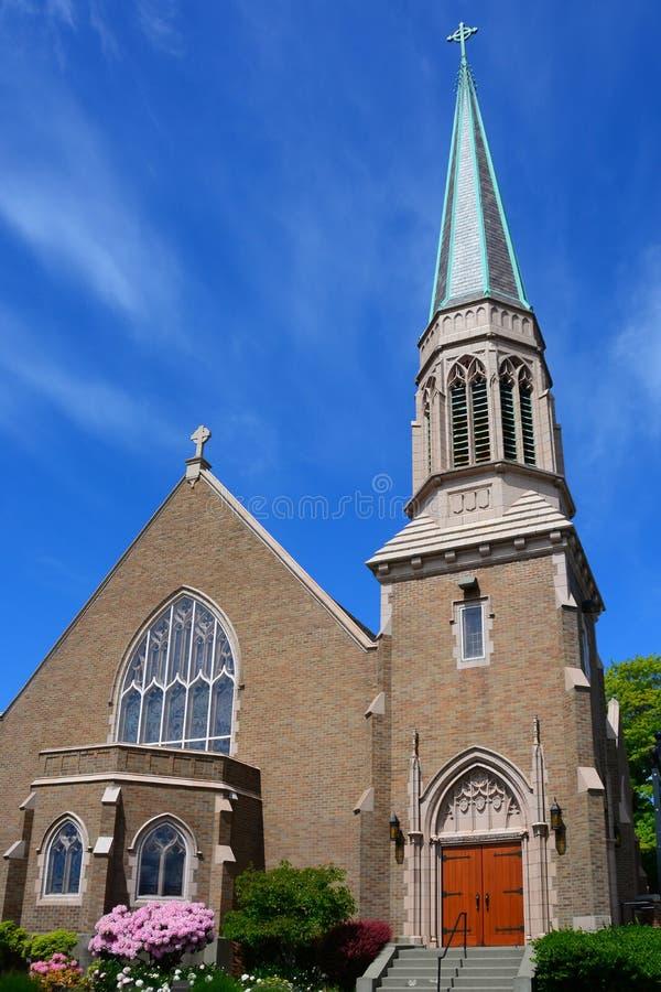 Download Gotisk Kyrka I Bellingham, WA Arkivfoto - Bild av oklarheter, kyrka: 106827934