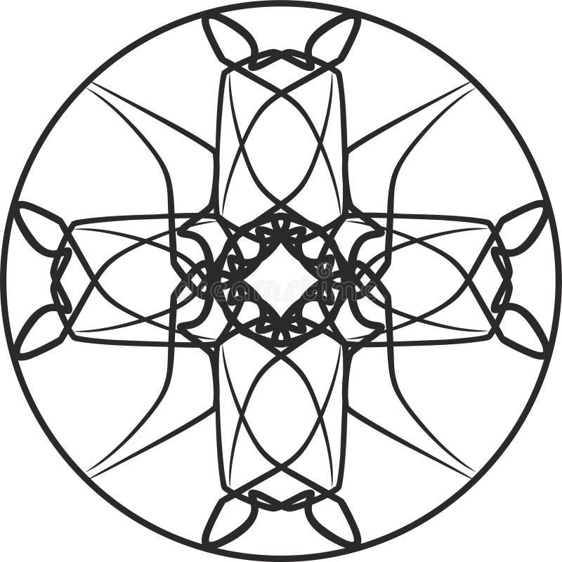 gotisk prydnad royaltyfria foton