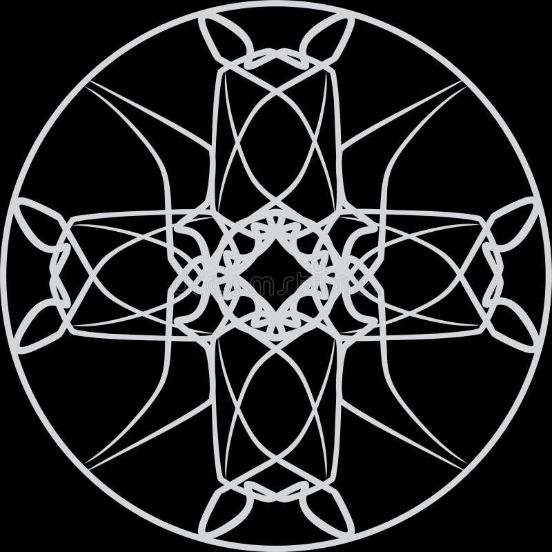 gotisk prydnad arkivfoton