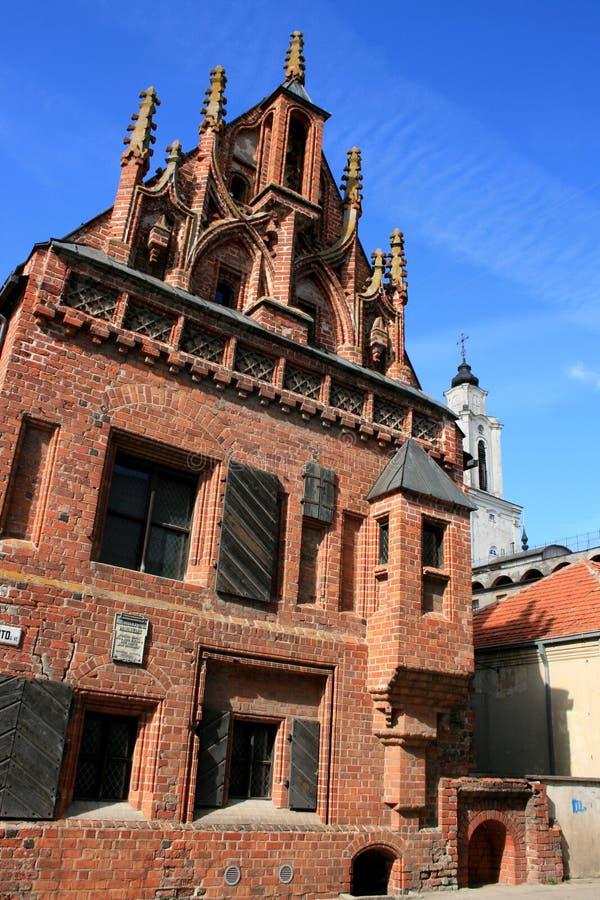gotiskt hus royaltyfri fotografi