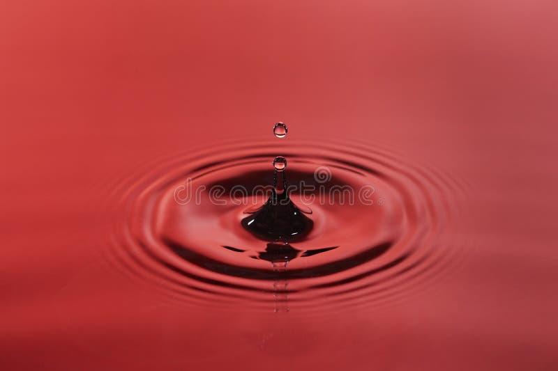 Gotita de agua foto de archivo libre de regalías
